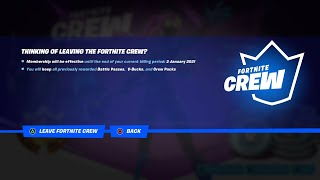 How to CANCEL Forтnite Subscription - Fortnite Crew Pack: ALL QUESTIONS ANSWERED