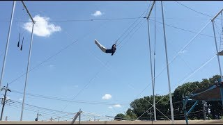 You can scream like a GIRL!! (Trapeze Heroes, Chiba, Japan. 日本空中飛人教室)