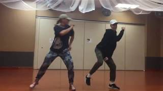Tia Aiono at DF Dance Studio - Dance Hall  Hip Hop routine - Tuesdays at 7pm