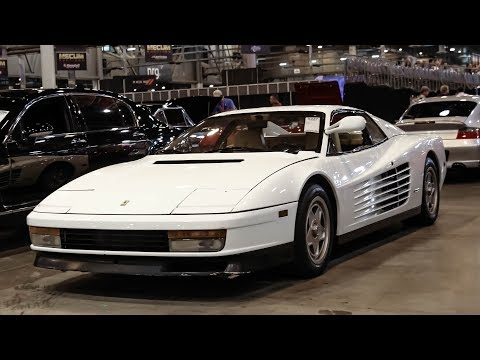 EXTREMELY RARE Cars Go Up for Auction at Mecum Houston 2018!