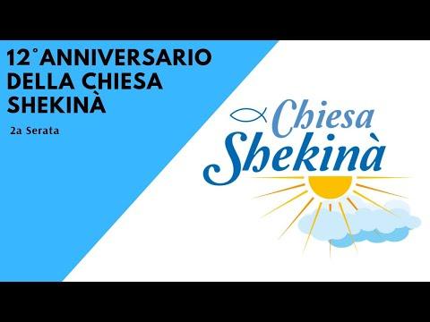 2a serata dell'anniversario della chiesa Shekinà