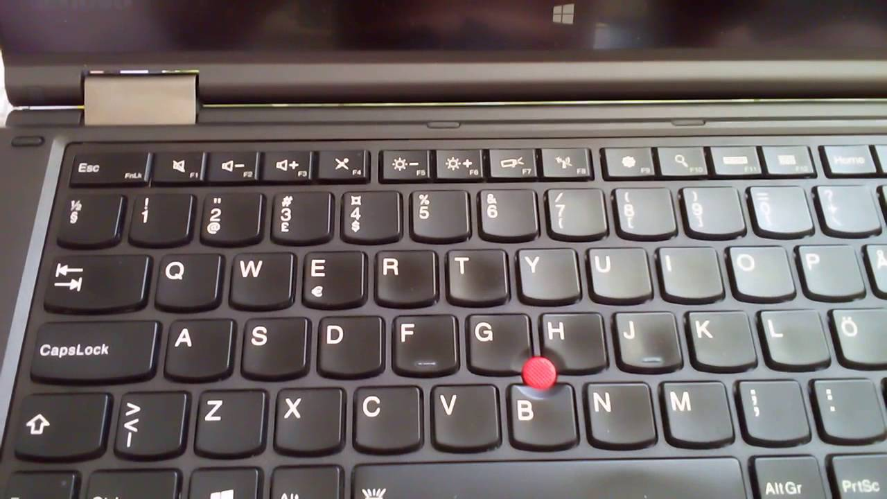 Thinkpad Yoga 14 Keyboard Not Working | Wajiyoga co
