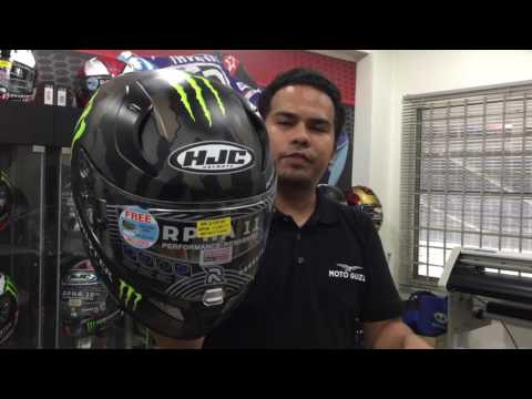 New HJC Star Wars and Monster Energy helmets in Malaysia!