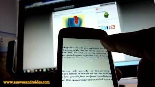 www.nuevosandroides.com Probamos Adobe Reader 9.0 para Android