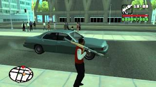 Lets Play GTA San Andreas Part 38 HD - Mission 38 - 555 We Tip