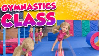 Barbie - The Twins First Gymnastics Class | Ep.136