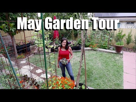 May Garden Tour - Garden In Transition,  Garden Tips & Drone Footage
