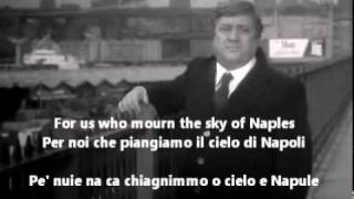 Mario Merola - Lacreme Napulitane (English lyrics,1925)