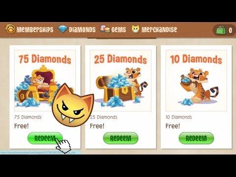 HOW TO GET FREE DIAMONDS IN ANIMAL JAM