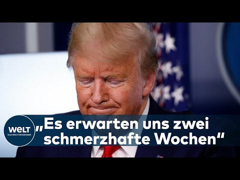 COVID-19: Trump unter