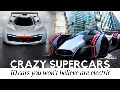 Top 10 Crazy Supercars You Won't Believe are Electric