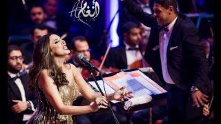 أنغام - اكتبلك تعهد من مهرجان الموسيقى العربيه 2016 Mastered HD Quality