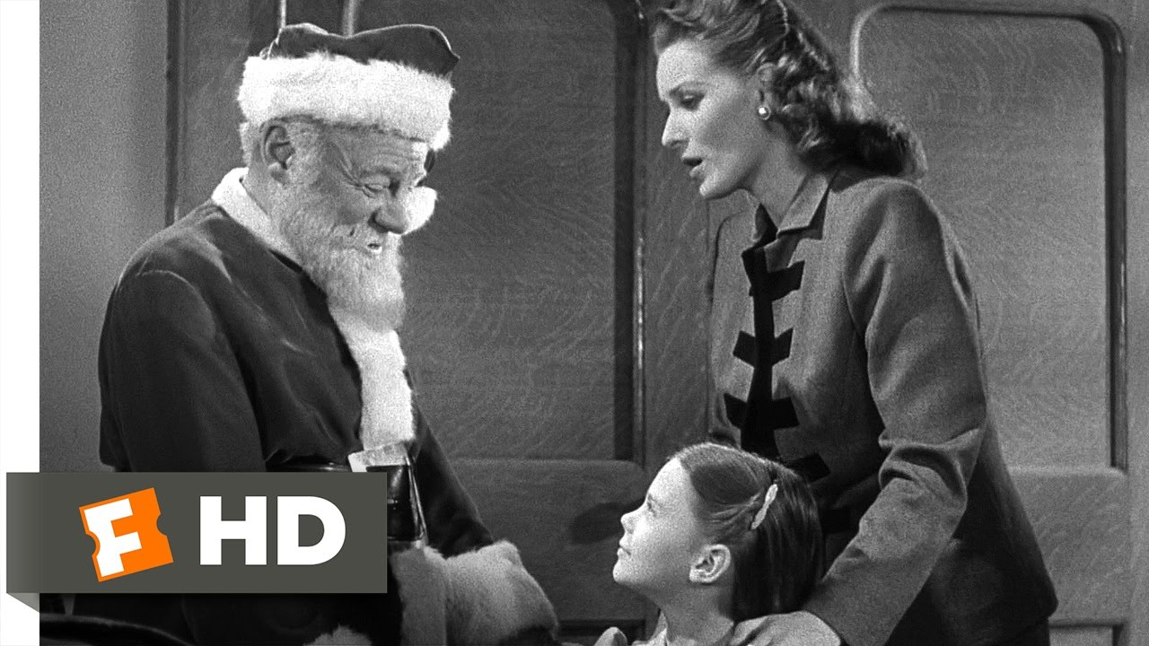 Miracle On 34th Street 2 5 Movie Clip Santa Wont Lie To Susan 1947 Hd Youtube