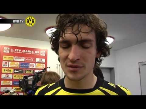 Mainz - BVB: Freies Interview mit Mats Hummels