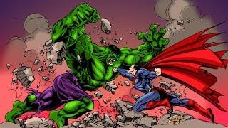 SUPERMAN VS HULK (PART 3) - REACTION!!!