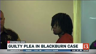 Plea in Amanda Blackburn murder