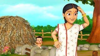 Khokon Khokon Kore Maaye   Bengali Rhymes for Children   Infobells