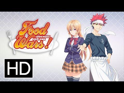 Food Wars Season 1 - Official Trailer