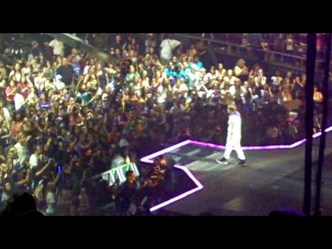 Justin Bieber At Madison Square Garden On August 31 2010 Youtube