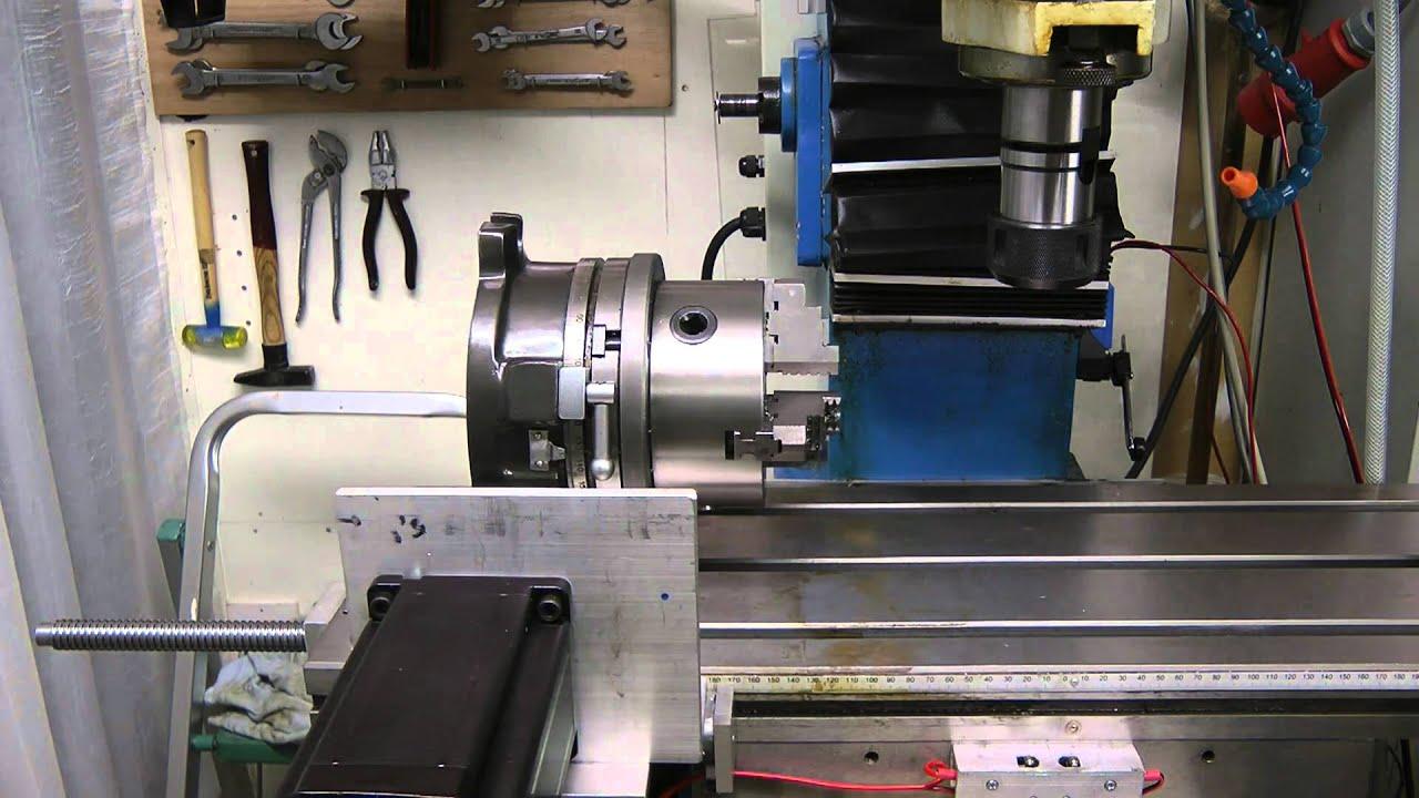 Hbm Dm45a Cnc Motorized Rotary Table 1080p Hd