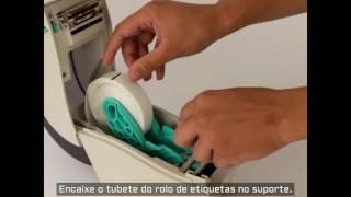 Veja como é fácil para trocar rolo de impressora hospitalar