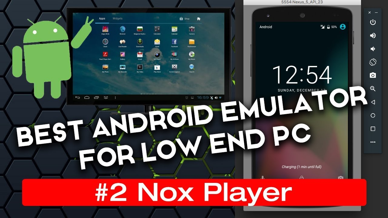 nox android emulator for low end pc