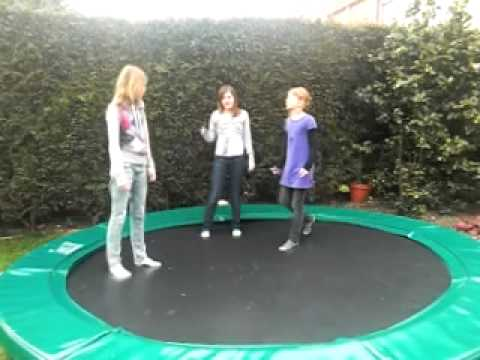 Onwijs Trampoline spelletjes! - YouTube FT-19