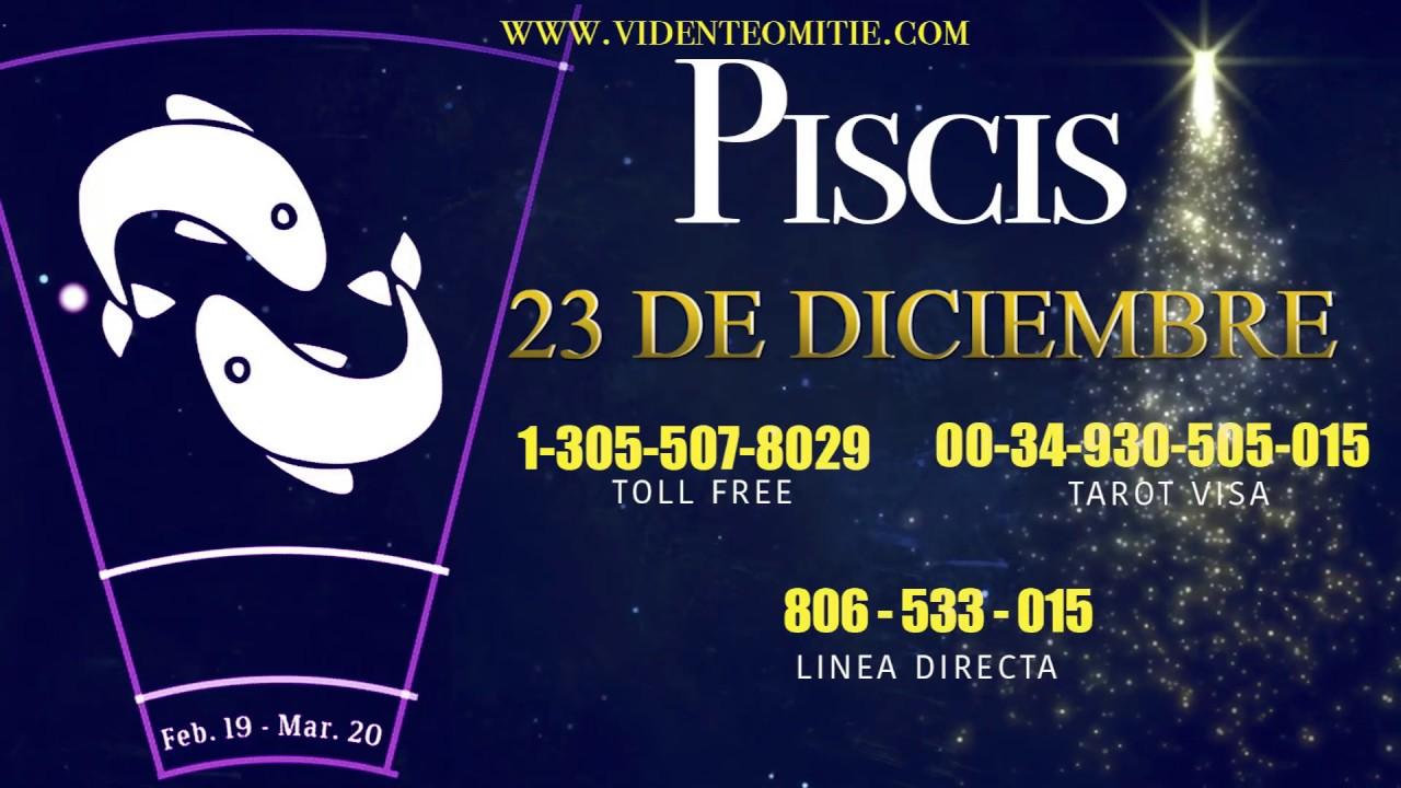 Horóscopo Diario Piscis Hoy Día 23 De Diciembre Del 2019