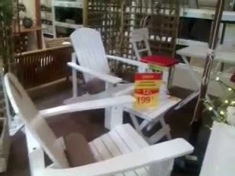 Muebles de jardin leroy merlin youtube for Muebles de jardin de madera