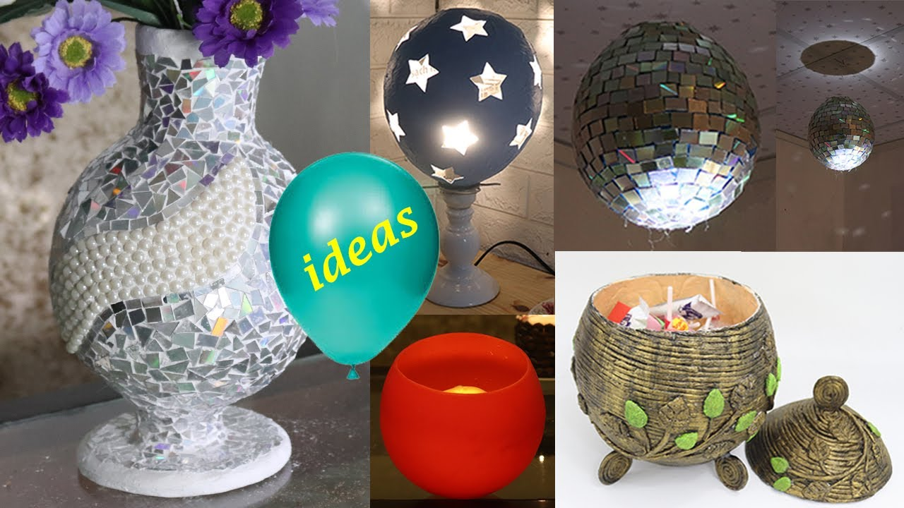 5 Balloon craft ideas for home decoration