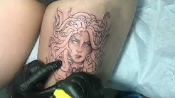 Medusa - Tattoo Timelapse