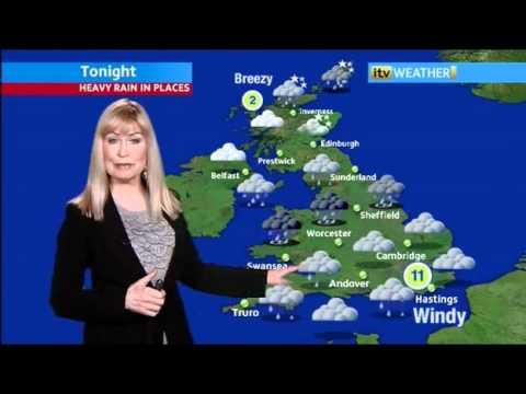 SIAN LLOYD (UK Weathergirl) on Helium
