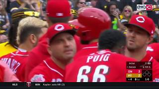 Benches clear in Reds-Pirates game as tempers rise