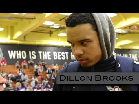 Justin Jackson & Dillon Brooks at Dick