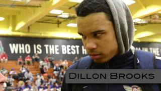 Justin Jackson & Dillon Brooks at Dick