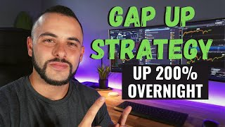 Download Gap Up Options Trading Strategy | Up 200% on TESLA Overnight!