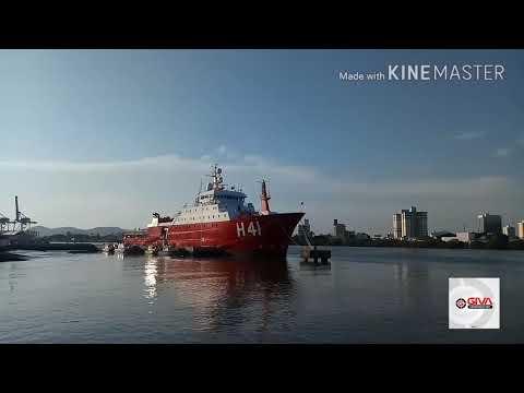 Navio polar Almirante Maximiano da Marinha do Brasil