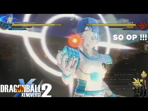 DIVINE WRATH : PURIFICATION IS AMAZING ! - Xenoverse 2