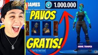 *RAPID* How to have FREE paVos in FORTNITE (Sorteo) How to have SKIN FREE in FORTNITE (BUG)