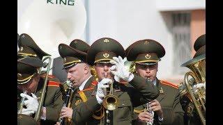 Конкурс военных духовых оркестров в Бобруйске - СТРИМ