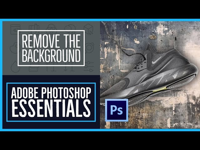 How to remove the background in Adobe Photoshop - Photoshop CC Essentials [27/86]