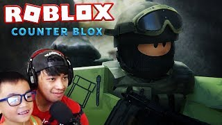 COUNTER BLOX - ROBLOX // JZ AND ZACK GAMING // PART 4