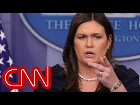 WH on Trump's Porter tweet: Not taking a side