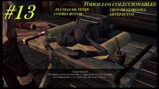 god of war ascension hd 13 todos los artefactos c rotos plumas y ojos capitulos 21 22 y 23