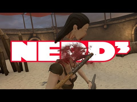 Nerd³ Decapitates a Guy - Blade and Sorcery