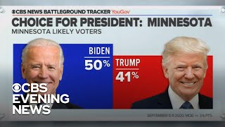 New CBS poll shows tight presidential race in key states