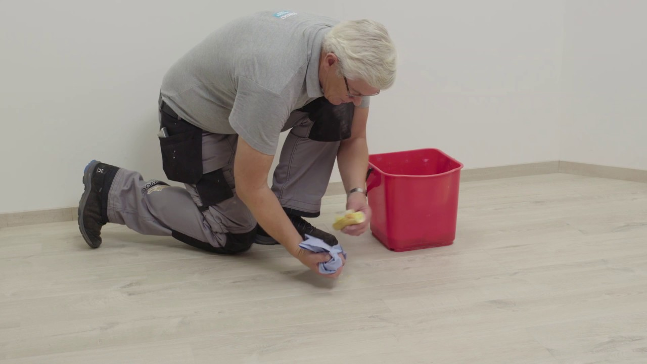 Installing Pergo vinyl flooring - How To Remove Stains From A Vinyl Floor?