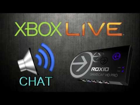 Record Xbox Live Chat W/ Roxio GameCap HD Pro! | No Splitters Needed!