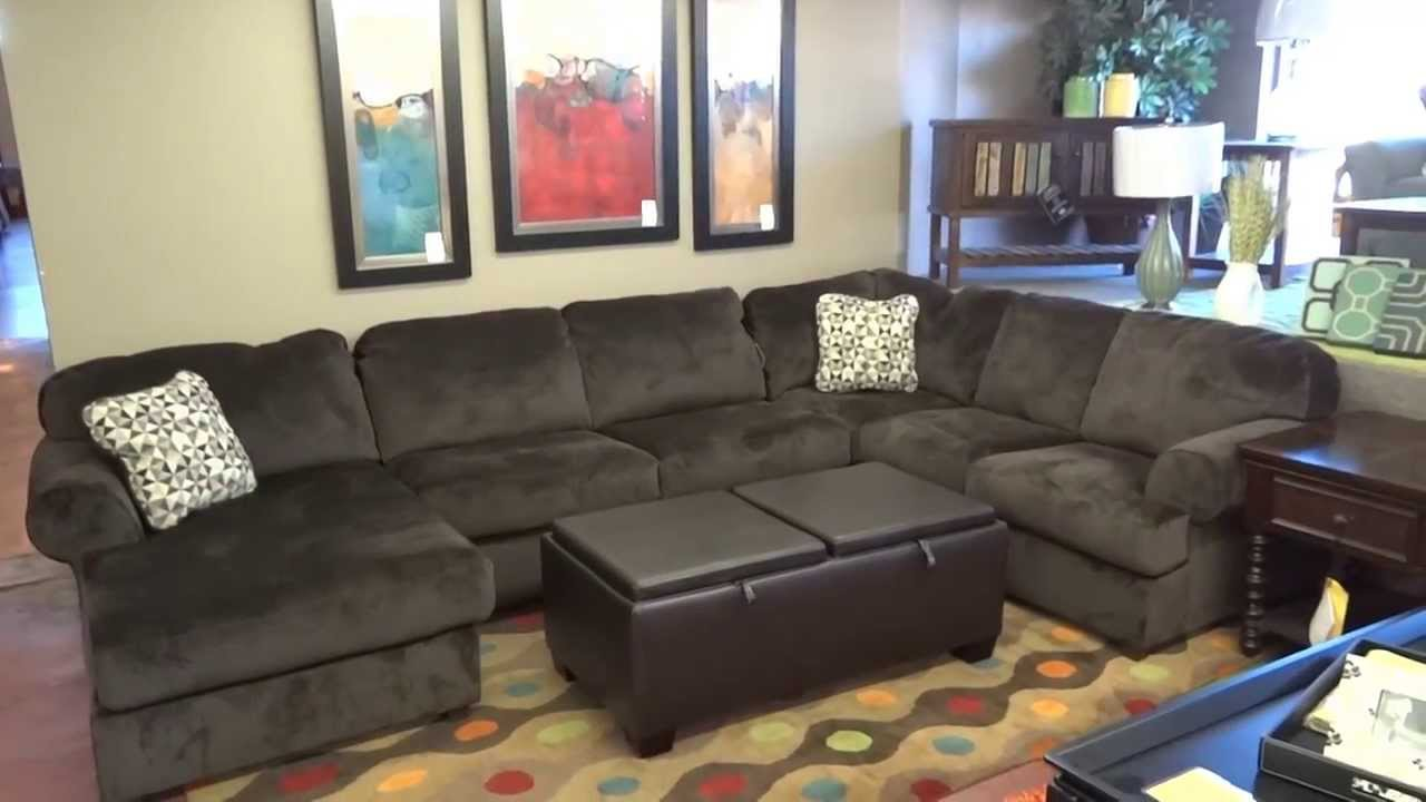 Ashley furniture jessa place sectional 398 review youtube for Best rated living room furniture