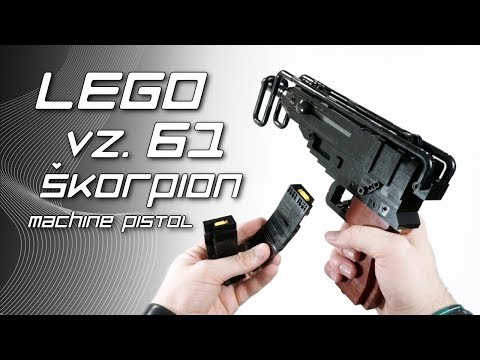 LEGO Vz. 61 Skorpion Machine Pistol